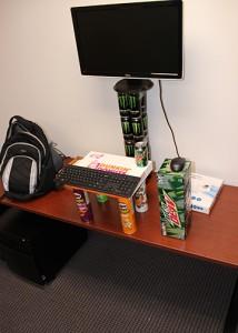 dunkin desk