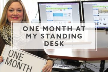 One Month At My Standing Desk