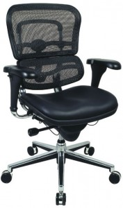 Ergohuman Mid Back Mesh (no headrest)