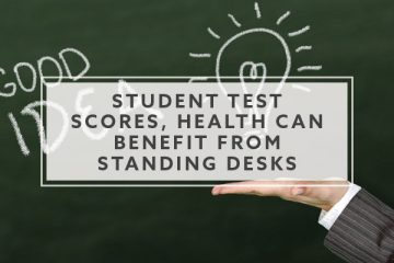 New School: Student Test Scores, Health Can Benefit From Standing Desks