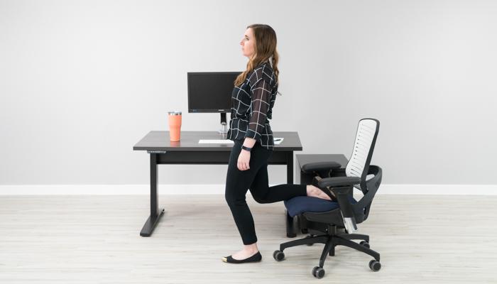 Standing Quadriceps/Hip Flexor Stretch
