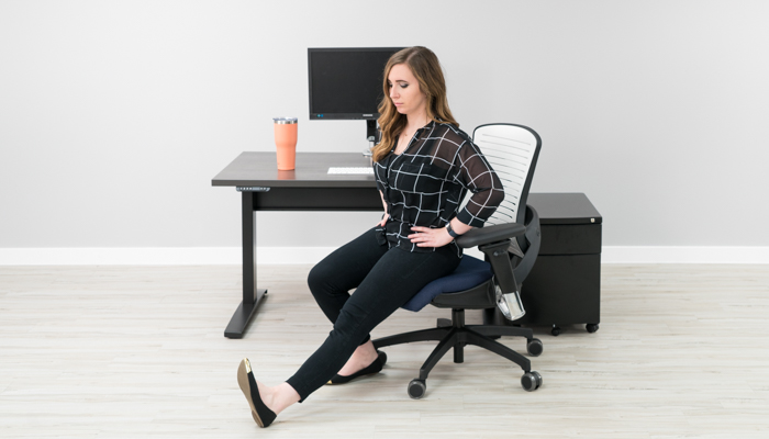 12 Stretches To Improve Back Pain At Your Desk