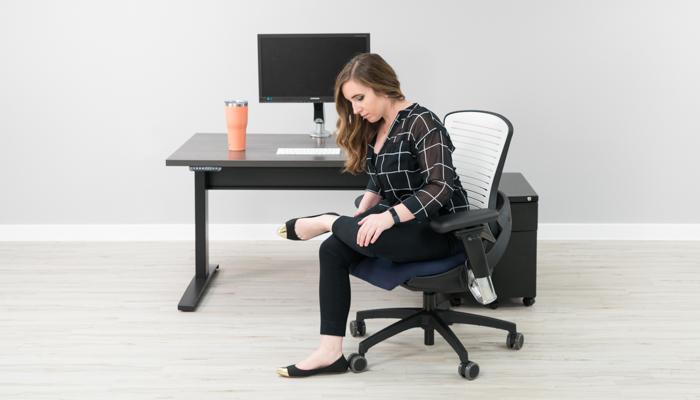 Seated Figure 4 Stretch