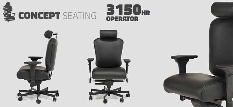 Concept Seating Operator 3150hr Chair Reviews Ratings