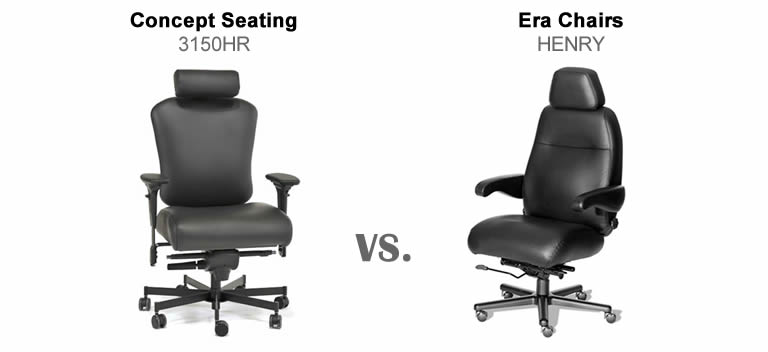 Before You Buy: Concept Seating 3150HR vs. ERA Henry HEN-2PC