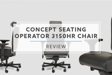 Concept Seating Operator 3150HR Chair (2019 Review / Rating / Price)