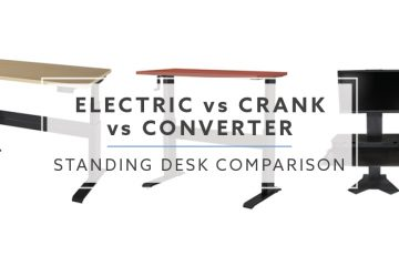 Standing Desk Comparison: Electric vs. Crank vs. Converter