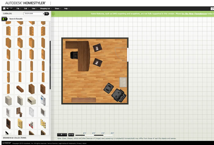 Autodesk S Homestyler Layout Tool For Office