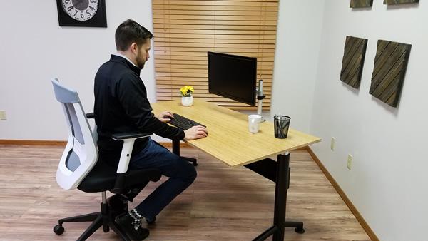 Incorrect usage of ergonomic products