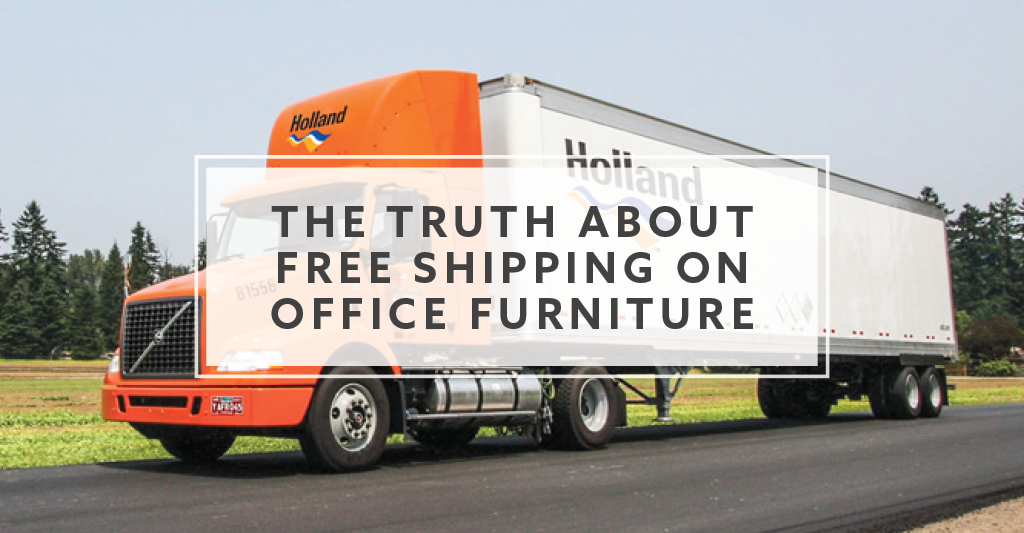 The Truth About Free Shipping On Office Furniture