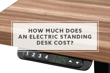 How much does an electric standing desk cost?