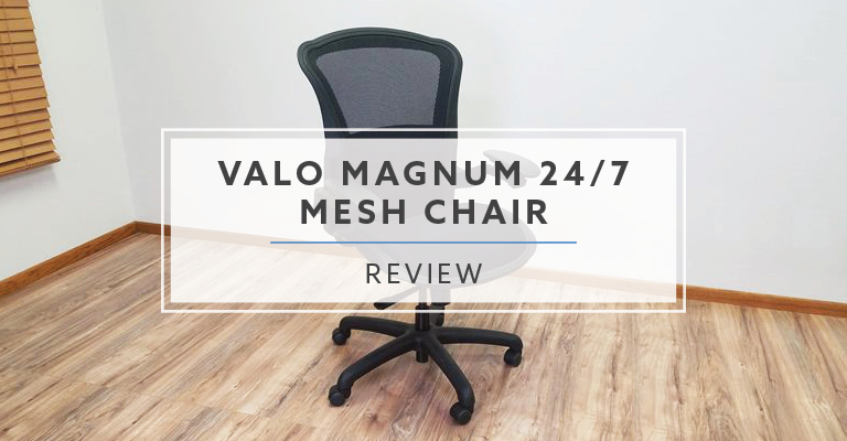 The Valo Magnum 24/7 Mesh Chair (Review / Rating / Pricing)
