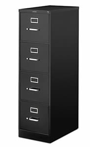 Vertical File Cabinet By Hon