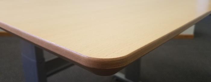 Wood Veneer Worksurface