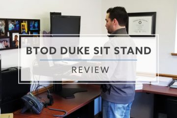 BTOD Duke Vesa Sit Stand Desk Converter (2019 Review / Rating / Pricing)