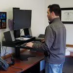 Duke Sit Stand Desk Converter Header Review