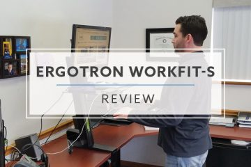 Ergotron WorkFit-S Sit Stand Stand Converter (2019 Review / Rating / Pricing)