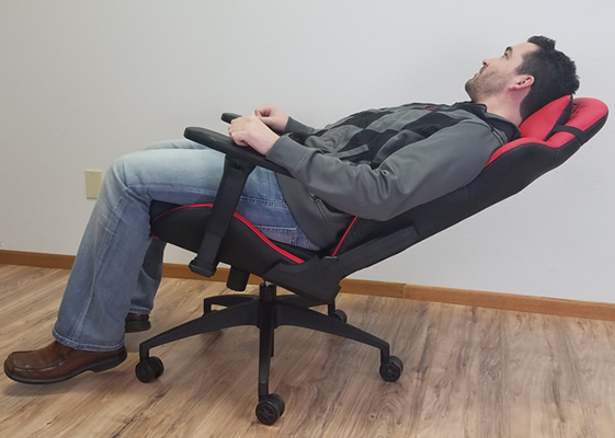 Gaming chair full back recline & What is a computer or pc gaming chair?