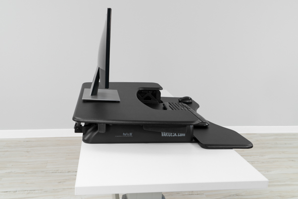 Large footprint on VariDesk Pro Plus 36