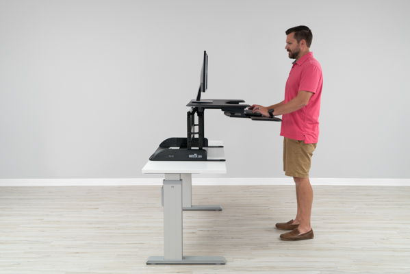Varidesk is too short for me