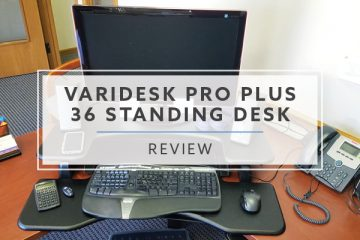 Varidesk ProPlus™ 36 Standing Desk Converter (2020 Review / Rating / Pricing)