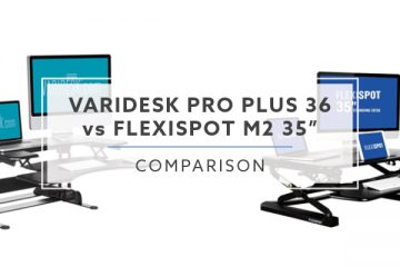 Which is better: VARIDESK Pro Plus 36 vs. FlexiSpot M2 – 35""