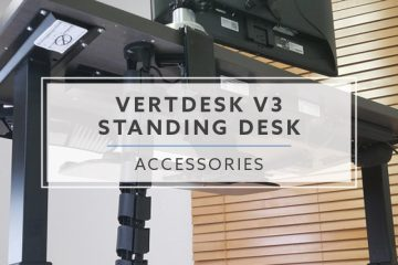 The VertDesk v3 Standing Desk Accessories Explained