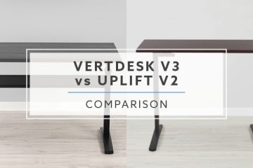 VertDesk v3 vs. Uplift Desk v2: Our 2019 Standing Desk Comparison