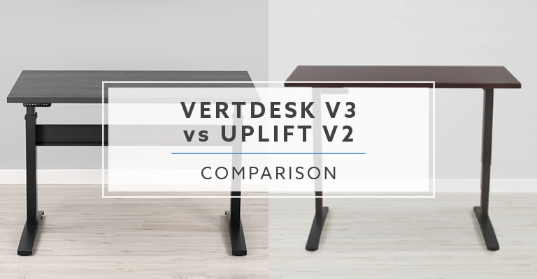 VertDesk v3 vs Uplift Desk v2