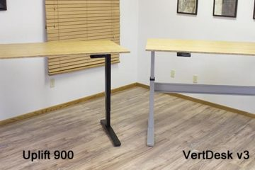 Uplift 900 Desk vs VertDesk v3: Stand Up Desk Comparison