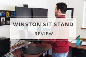 Winston Workstation Sit Stand Converter (2019 Review / Rating / Pricing)