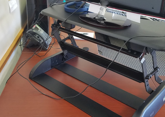 Wire Management Problems with Varidesk