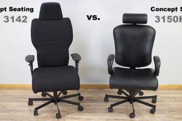 Concept Seating 3142 vs 3150HR: Which 24 Hour Chair is Best?