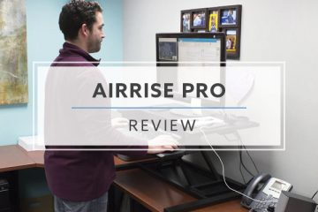 AirRise™ Pro Standing Desk Converter (2020 Review / Rating / Pricing)