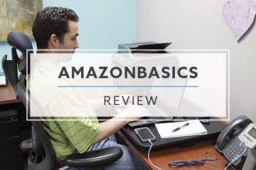 AmazonBasics Sit Stand Desk Converter (Review / Rating / Pricing)