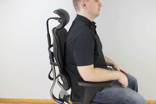Upper Backrest an Issue For Sitting Upright in Ergohuman LE9ERG