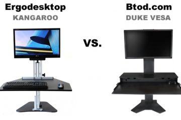 Ergodesktop Kangaroo VS BTOD VESA Duke: Which is the better converter?
