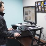 Rocelco ADR Sit Stand Adjustable Desk Riser Review