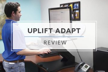 Uplift Standing Desk Riser – UDA100 (2021 Review/Rating/Pricing)