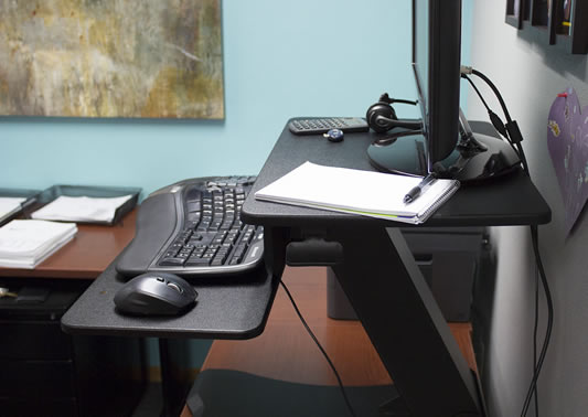 Uplift Adapt Standing Desk Converter Review Rating