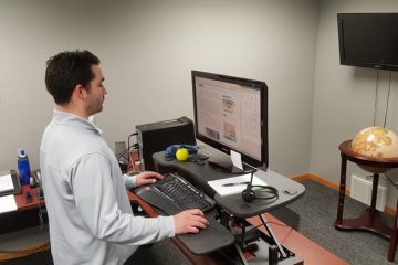 OFM 5100 Stand Up Desk Converter Review Rating Pricing