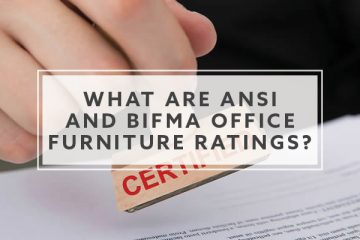 What are ANSI and BIFMA Office Furniture Ratings?
