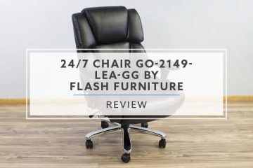 24/7 Chair GO-2149-LEA-GG by Flash Furniture (Review / Rating / Pricing)