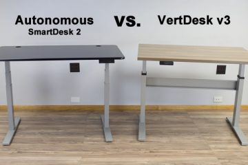 Autonomous SmartDesk 2 Business Edition vs. VertDesk v3: Which is better?