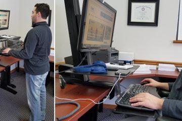 5 Best Standing Desk Converters For Proper Ergonomics
