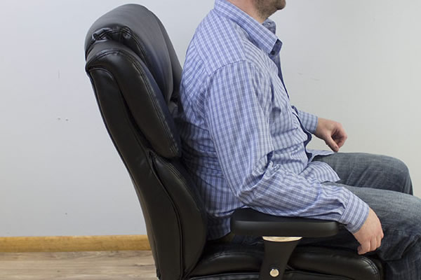 Backrest angle