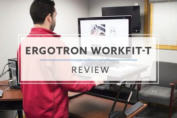 Ergotron WorkFit-T Sit Stand Desk Converter (2019 Review / Rating / Pricing)