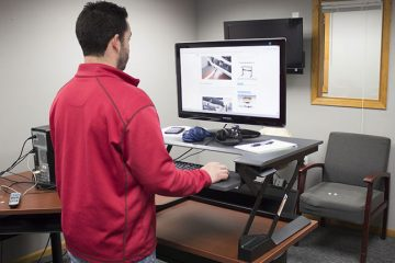 Ergotron WorkFit-T Sit Stand Desk Converter (Review / Rating / Pricing)