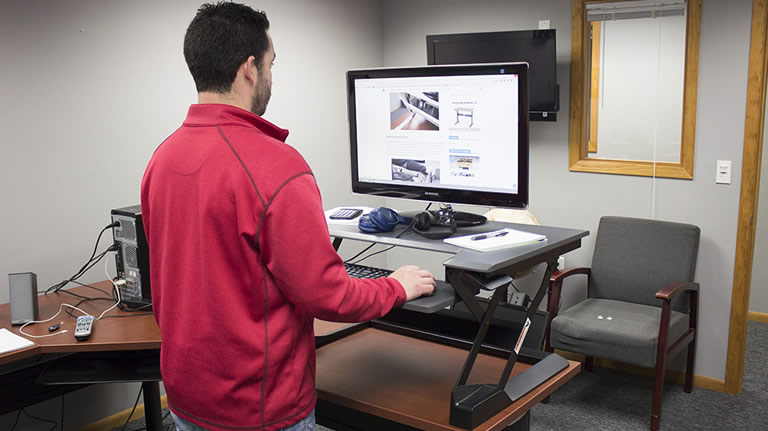 Ergotron Workfit T Standing Desk Converter Review