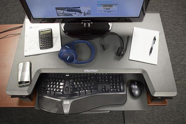 Ergotron Workfit T Task Area